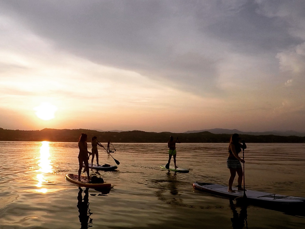 Sunset Yoga and Sup